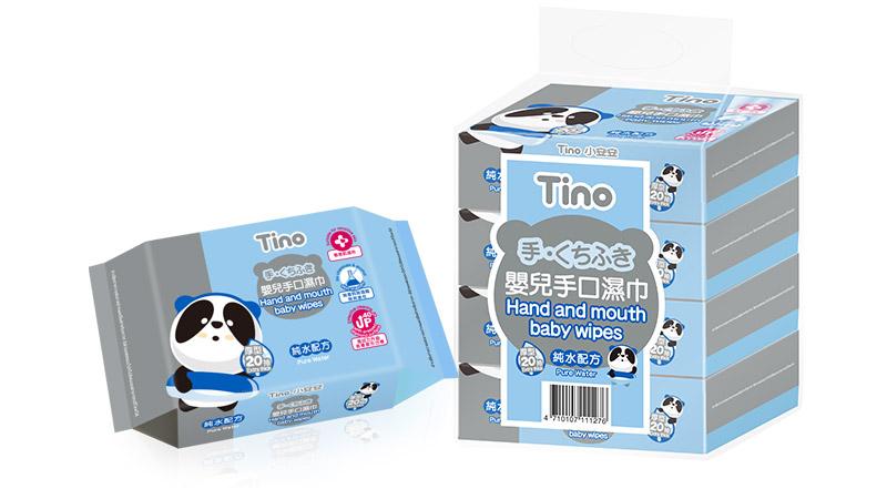 Tino嬰兒手口濕巾 敏感呵護型