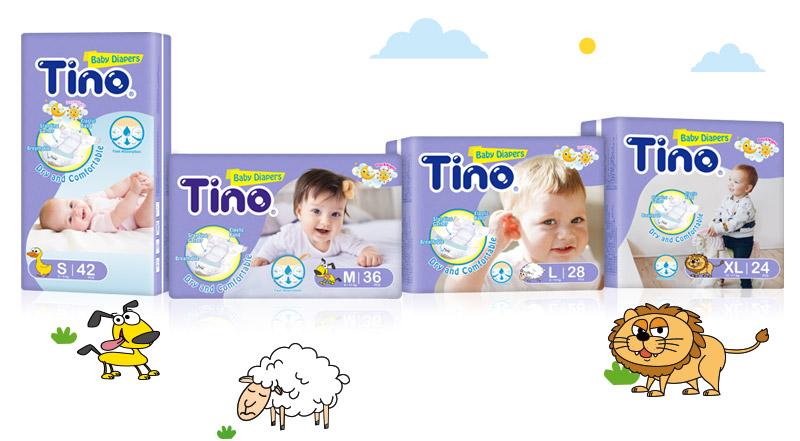 Tino頂級柔棉4D空氣感嬰兒紙尿褲